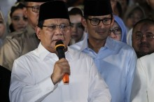 Prabowo Ingin Berteman dengan AS dan Tiongkok