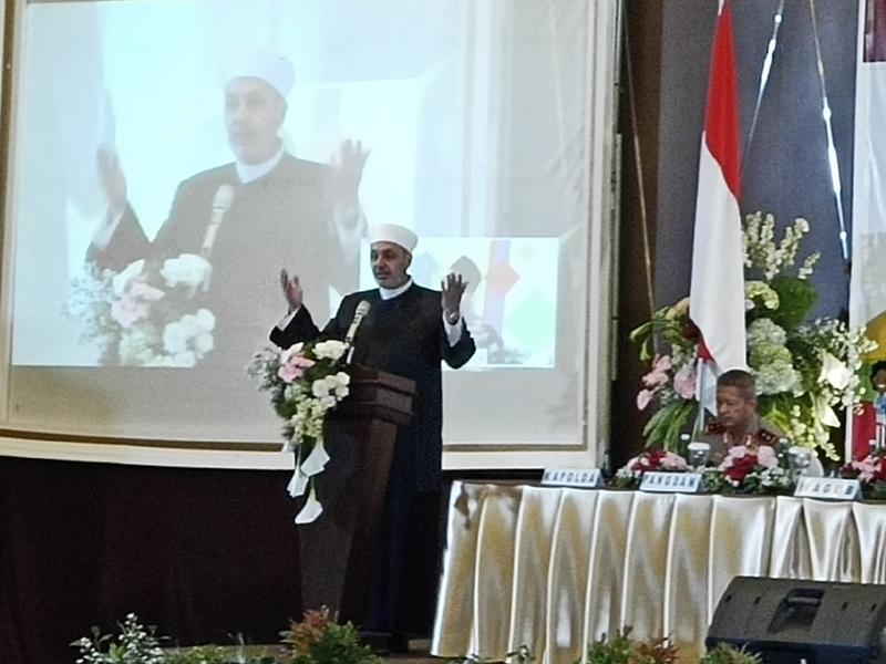 Ulama dari Suriah, Syekh Abdus Salam Raje. medcom.id/Budi Arista Romadhoni