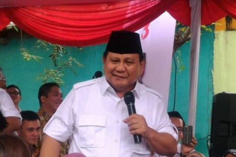 Kata Prabowo Soal Rasio Pajak Indonesia