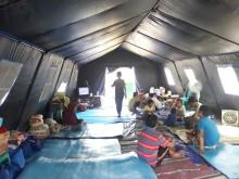 Korban Tanah Ambles Cemas Direndam Banjir