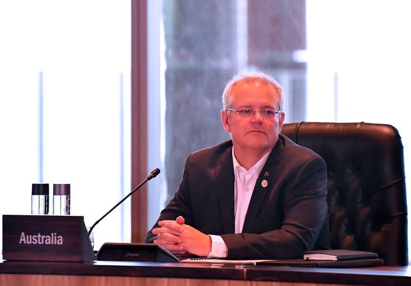 Perdana Menteri Australia Scott Morrison ambil langkah tegas terhadap warga yang terlibat terorisme. (Foto: AFP).