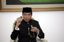 Jokowi to Attend Campaign Rally in Lampung