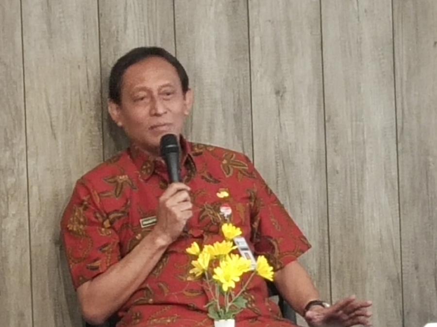 epala Dinas Penanaman Modal dan Pelayanan Terpadu Satu Pintu (DPMPTSP) Jateng, Prasetyo Aribowo di Room In Hotel, Semarang, Kamis 22 November 2018. Medcom.id/Budi Arista R
