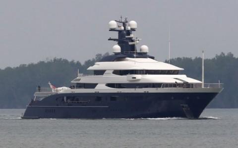 Malaysia Habiskan Rp12 Miliar Rawat Kapal 1MDB