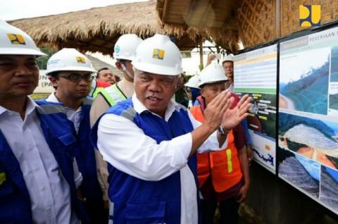 Menteri PUPR Minta Kualitas Air Bendung Way Sekampung Dijaga