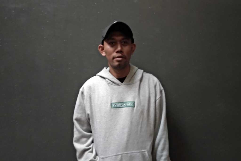 Mirza atau lebih dikenal dengan nama Jawir, sosok di balik Represent Jakarta (Foto: Medcom.id/Shindu Alpito)