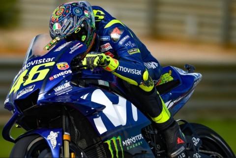 Rossi Belum Puas dengan Mesin Baru Yamaha