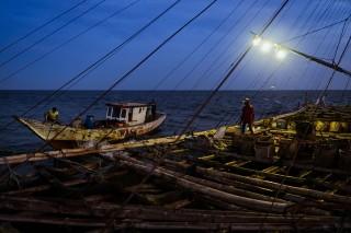 Pasang Surut Nelayan Bagan