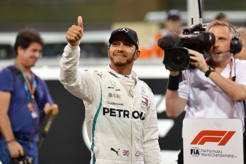 Lewis Hamilton Rebut Pole Position GP Abu Dhabi