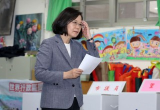 Kalah Pemilu Sela, Presiden Taiwan Mundur dari Partai