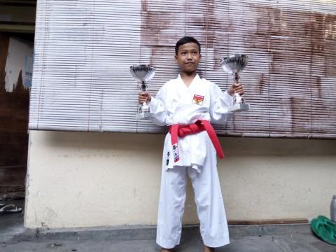 Bocah asal Solo Jadi Juara Karate Internasional di Belgia