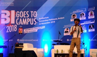 BI Goes to Campus 2018 Diisi Pembicara Kompeten dan Milenial <i>Banget</i>