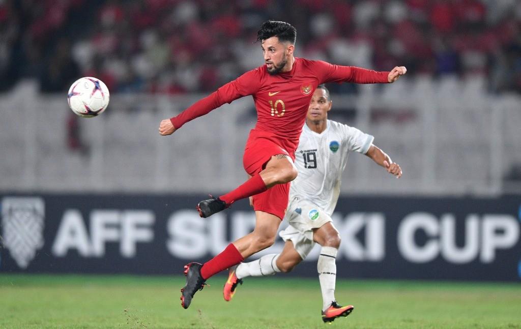 Stefano Lilipaly dipercaya kembali memperkuat Indonesia saat menghadapi Filipina (Foto: Antara/Sigid Kurniawan)