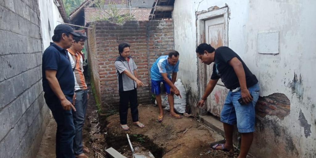 Lokasi penemuan bayi di Desa Tumpeng Candipura, Kabupaten Lumajang.