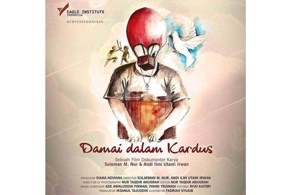 Poster film Damai Dalam Kardus (Foto: Dok. Eagle Awards)