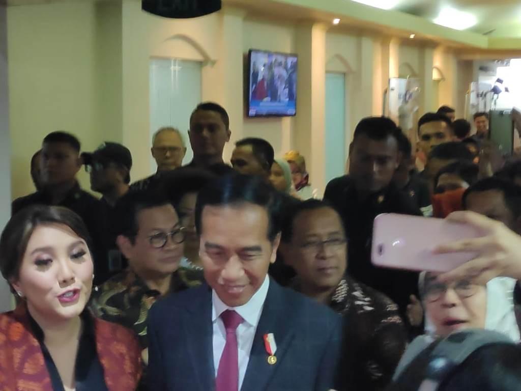 President Joko Widodo (Photo:Medcom.id/Adin)