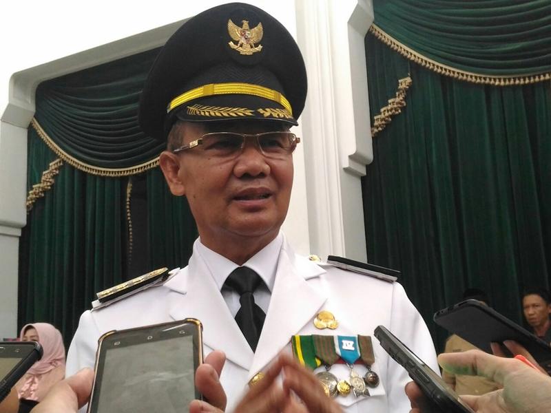 Bupati Majalengka Karna Sobah. Medcom.id/Roni Kurniawan