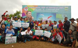 Grand Final Paragliding TROI 2018 Resmi Ditutup