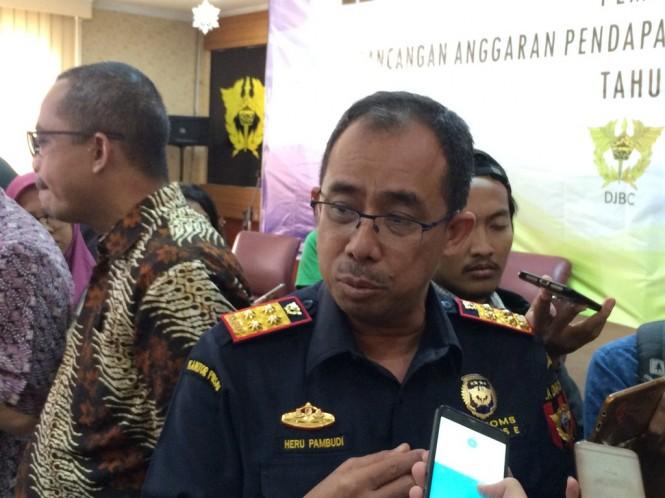 Direktur Jendral Bea dan Cukai Heru Pambudi - - Foto: Medcom.id/ Eko Nordiansyah
