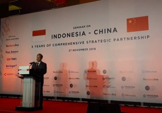 Tiongkok Sebut Capaian Baru dalam Kerja Sama dengan RI