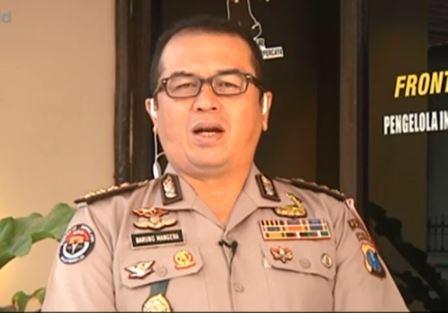 Kabid Humas Polda Jawa Timur Kombes Frans Barung Mangera (Foto: Metro TV)