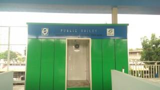 Pembangunan Toilet di <i>Skybridge</i> Rampung