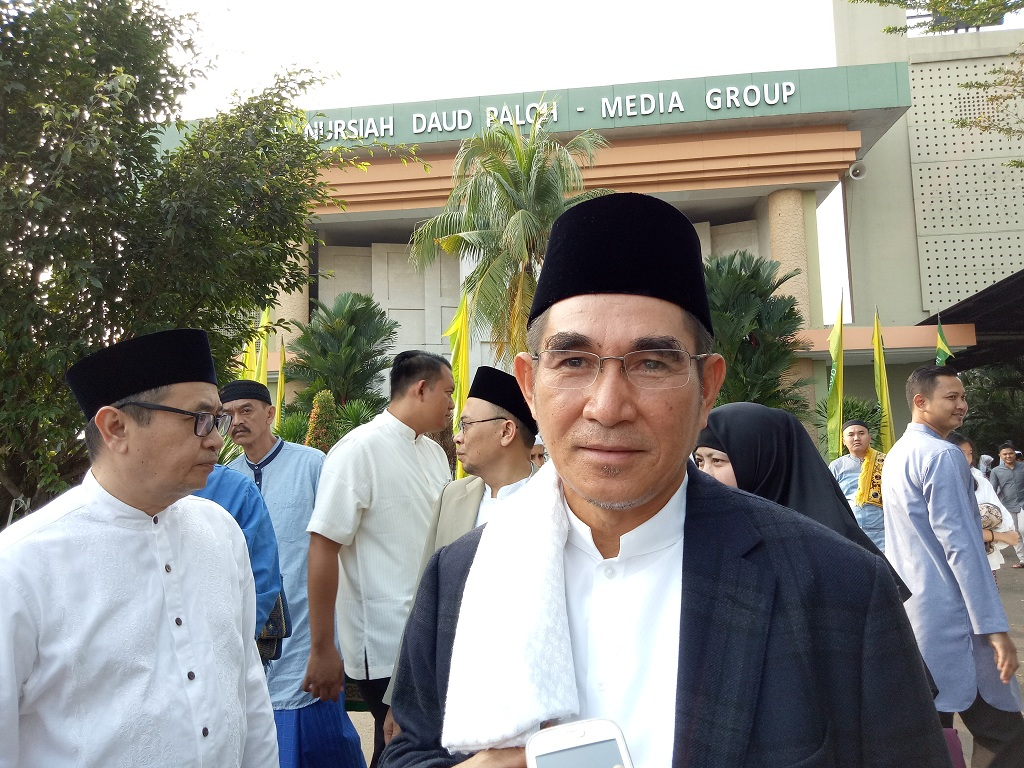 Mantan Ketua Mahkamah Konstitusi Hamdan Zoelva - Medcom.id/Siti Yona Hukmana.