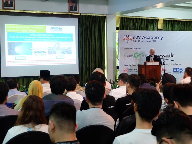 Ratusan startup berkumpul di NDP Batam, Kepulauan Riau untuk mengikuti program e27 Academy. Medcom.id/Anwar Sadat Guna
