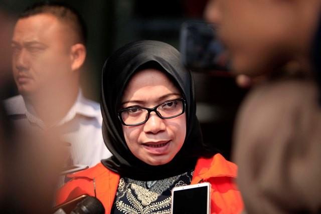Mantan Wakil Ketua Komisi VII Eni Maulani Saragih. Foto: MI/Rommy Pujianto