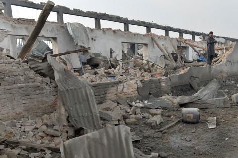 Perusahaan Keamanan Inggris di Kabul Dibom, 10 Tewas