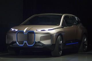 BMW Pamer Mobil Konsep Vision iNEXT