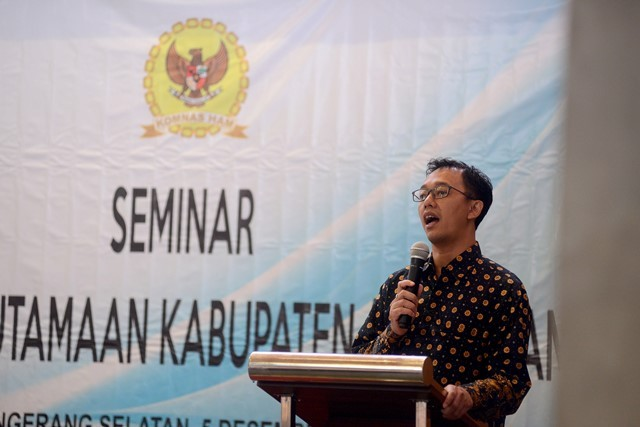 Komisioner Komnas HAM Beka Ulung Hapsara. Foto: Susanto/MI