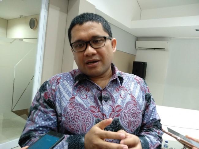 Peneliti Senior Lembaga Penyelidikan Ekonomi Masyarakat Universitas Indonesia (LPEM-UI) Febrio Kacaribu. (FOTO: Medcom.id/Desi Angriani)