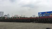 TNI Polri Gelar Apel Pengamanan Natal