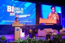 Kepala Departemen Komunikasi Bank Indonesia Arbonas Hutabarat (Foto:Medcom.id/P Aditya Prakasa)