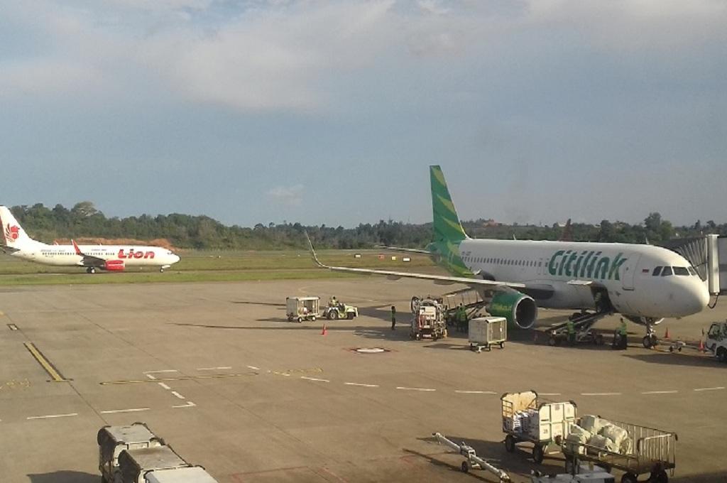 Suasana di landasan Bandara Hang Nadim Batam, Medcom.id - Anwar Sadat Guna