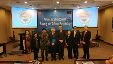 RI Gandeng Uni Eropa Perkuat Manajemen Pertahanan Keamanan
