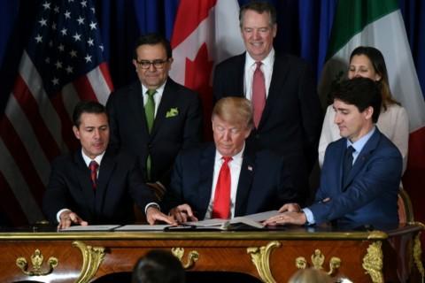 AS-Meksiko-Kanada Teken NAFTA Baru, Trump Klaim Menang