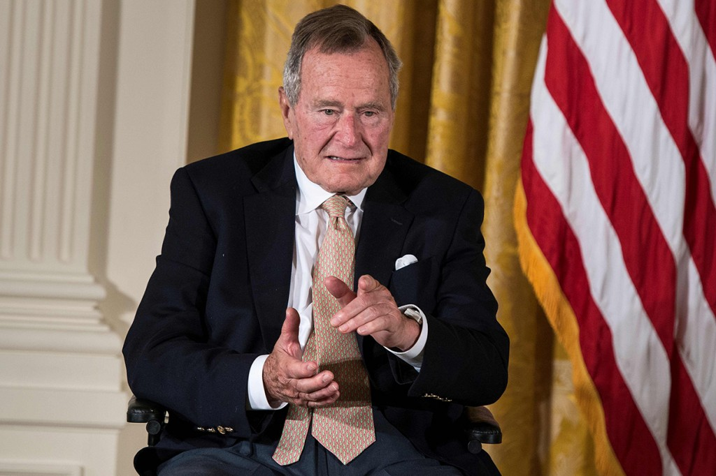 George Bush Senior Meninggal Dunia