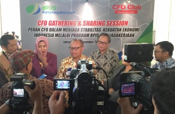 BPJS Ketenagakerjaan Ajak CFO Club Indonesia Peduli Manfaat Jaminan Sosial