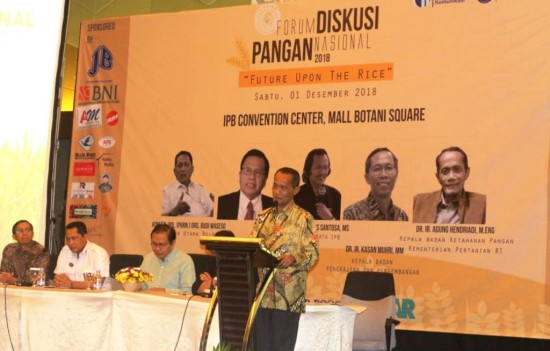 Indonesia Diyakini Tidak akan Kekurangan Pangan