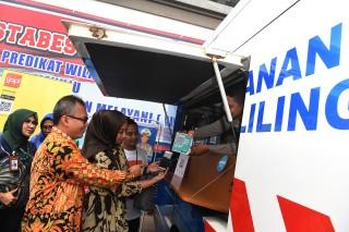 Polrestabes Surabaya Luncurkan Program Pembayaran SIM Non Tunai