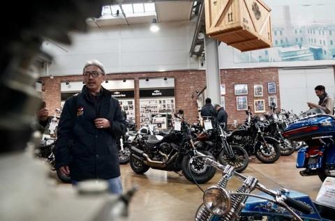 <i>Builder</i> Indonesia Sambangi Markas Harley-Davidson Jerman