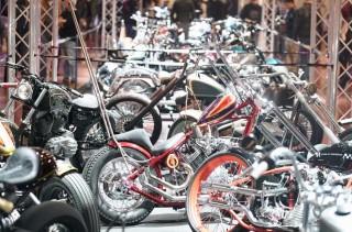 Baru Dibuka, Custombike Show Langsung Diserbu Pengunjung