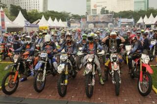 Bikers Seru-Seruan di IIBG 2018 Medan
