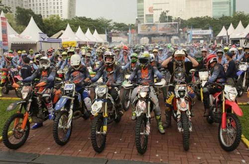 Bikers seru-seruan di Sumatera Bike Week dan XTrim Sumatera