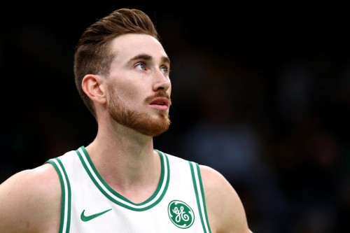 Small forward Boston Celtics, Gordon Hayward (AFP/Maddie Meyer)