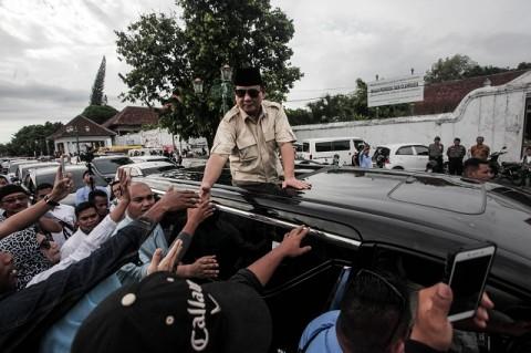 Prabowo Mengaku Bangga Jadi Muslim Indonesia