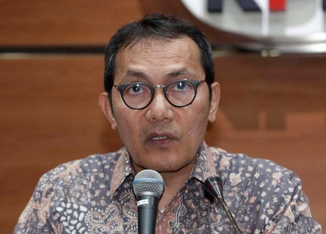 Wakil Ketua KPK Saut Situmorang. Foto: MI/Rommy Pujianto