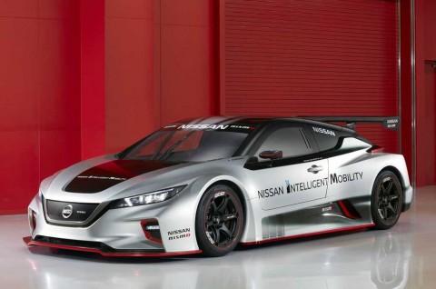 Nissan Leaf NISMO RC Pinjam Teknologi Formula E
